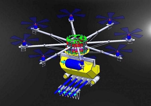 Weaponized Drone