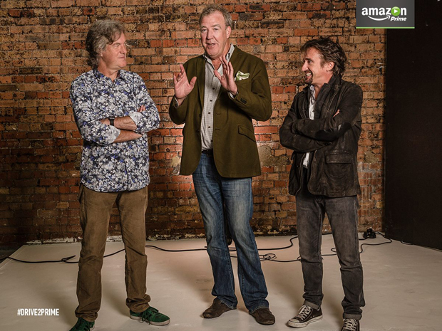 Richard Hammond Jeremy Clarkson James May