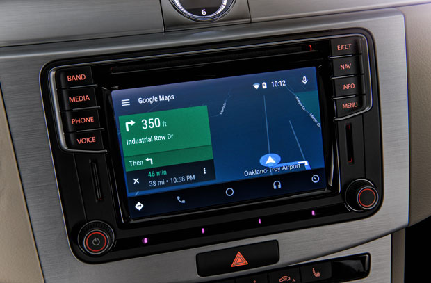 volkswagen android auto