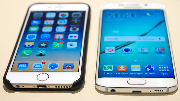 Galaxy S6 and iPhone 6