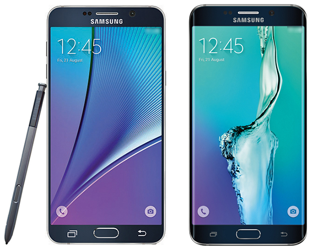 Galaxy Note 5 and Galaxy S6 Edge Plus