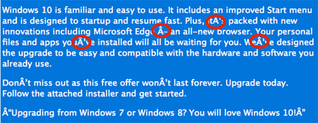 Windows 10 Scam