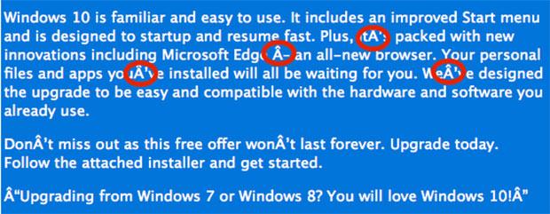 Windows 10 Scam