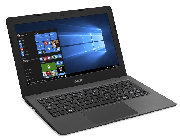 aspire one cloudbook angle