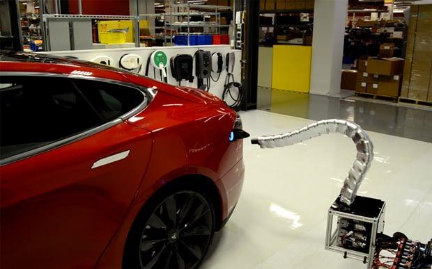 Tesla Solid Metal Snake