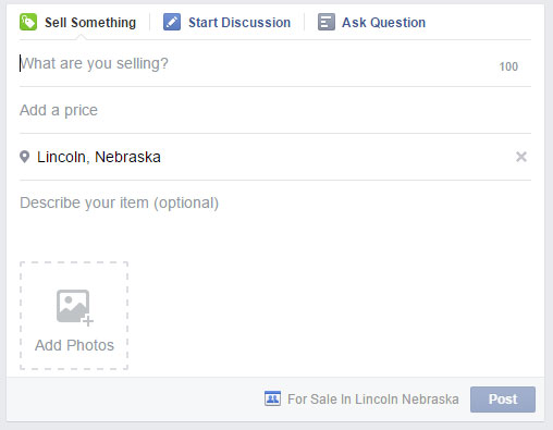 Facebook forsale