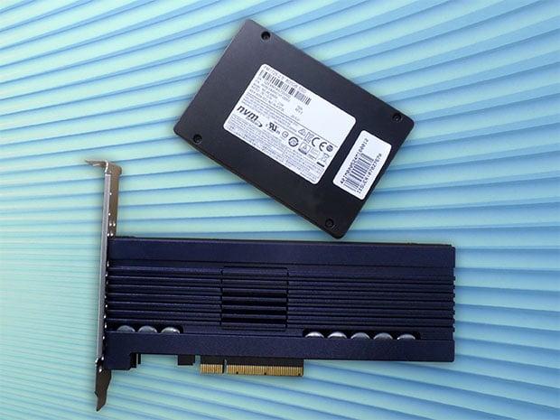 Samsung PM1725 SSDs