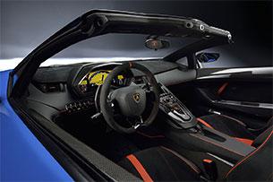 Lamborghini Aventador LP750-4 SV Roadster Steering Wheel