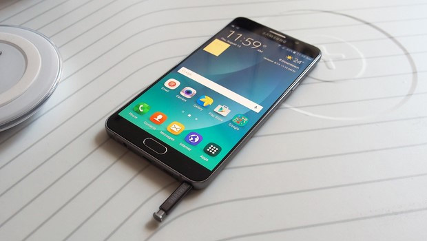 Samsung Galaxy Note 5 and S Pen