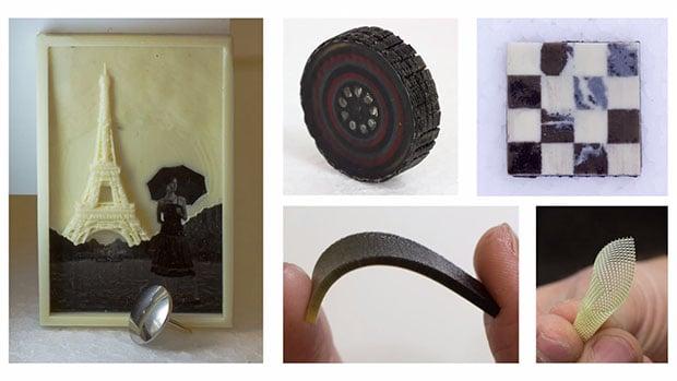 Multi material 3D Print