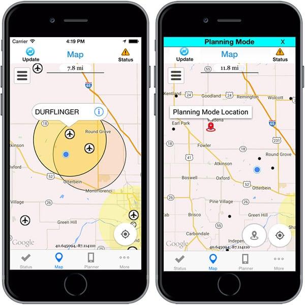 B4UFLY FAA App