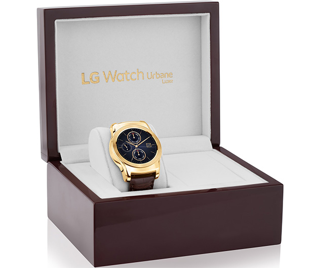 LG Watch Urbane Luxe Box