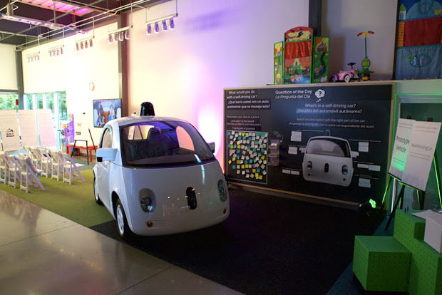 Google autonomous vehicle gumdrop