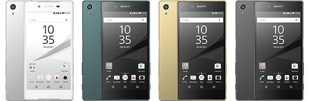 Sony Xperia Z5 Color Range