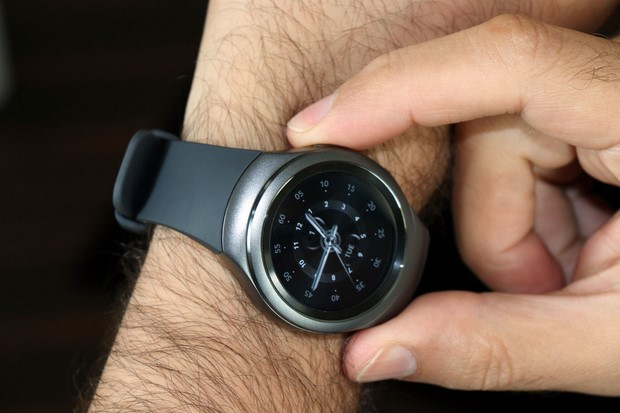 Galaxy Gear S2 Sport On Arm