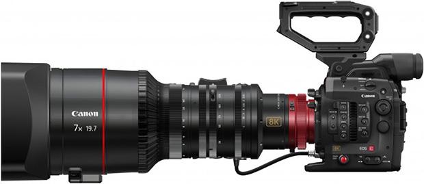Canon 8K Camera System