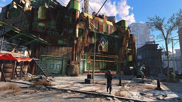 Fallout 4 Stadium
