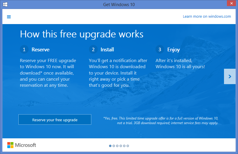 windows 10 upgrade 2
