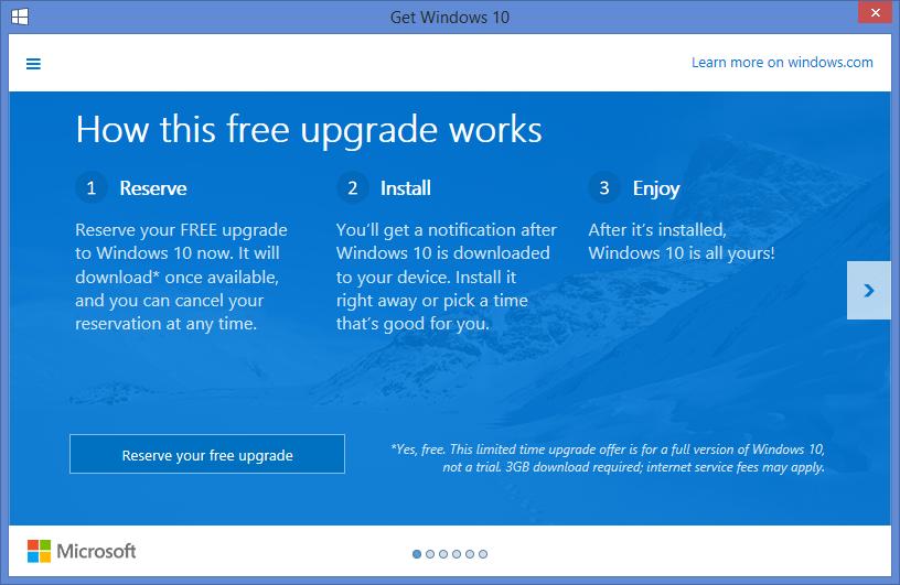 windows 10 upgrade 2
