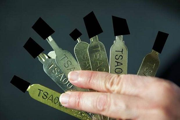Washington Post TSA Keys