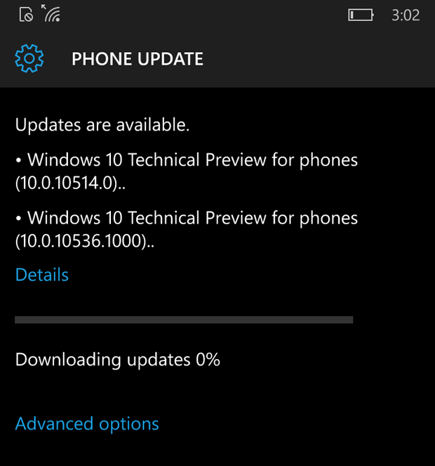 windows mobile update