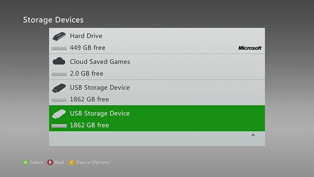 Microsoft Xbox 360 Cloud Storage