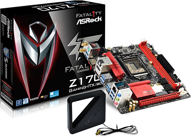 ASRock Fatal1ty Z170 Gaming-ITX/ac