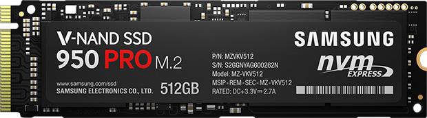 Samsung 850 Pro SSD 512GB