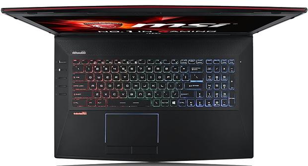 MSI GT72 Dominator Pro G Keyboard