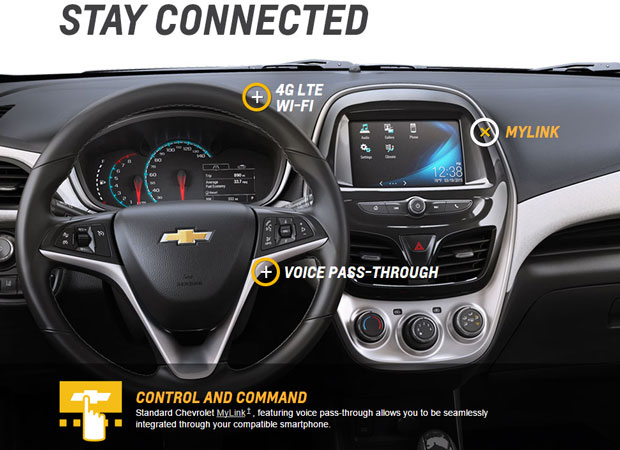 Chevy spark android auto
