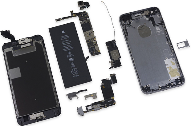 iPhone 6s Plus Disassembled