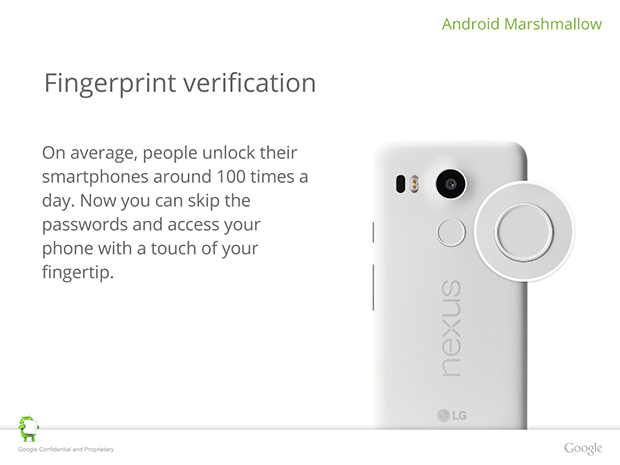nexus 6 fingerprint