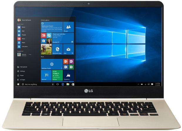 LG gram lightweight laptop