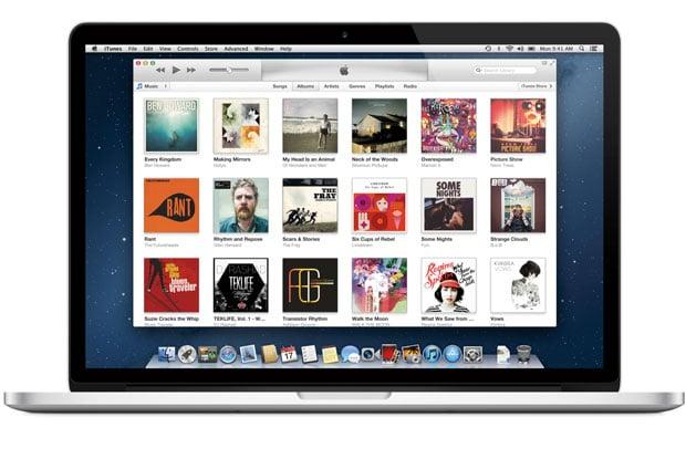 iTunes MacBook