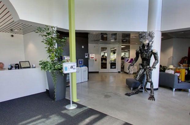 google building 44 lobby