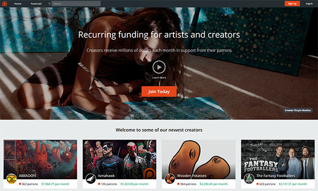 Sensitive User Data From Hacked Patreon Sponsorship Site