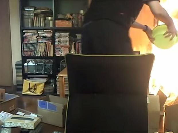 fire minecraft