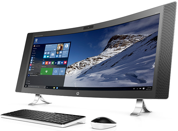 HP Curved All-in-One