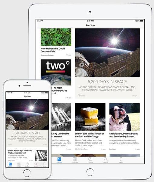 Apple News App
