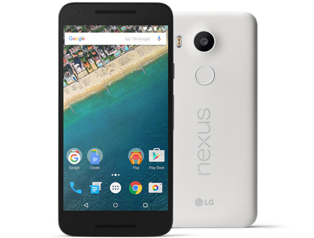 Nexus 5X Front and Back