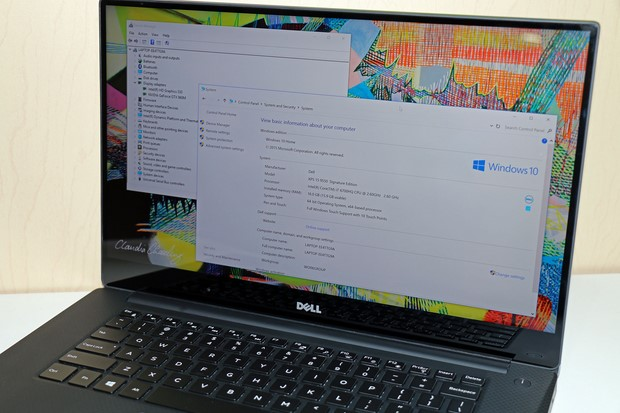Dell XPS 15 Properties