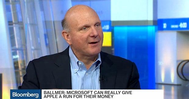 Ballmer Bloomberg