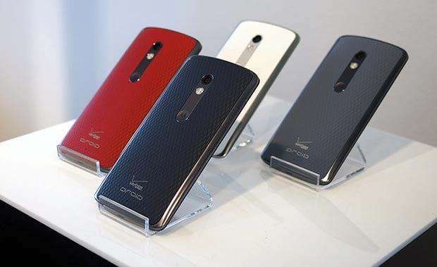 Motorola Droid Turbo 2 colors