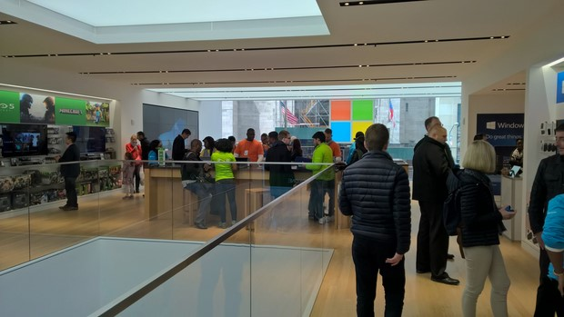 microsoft store tour 2nd 2