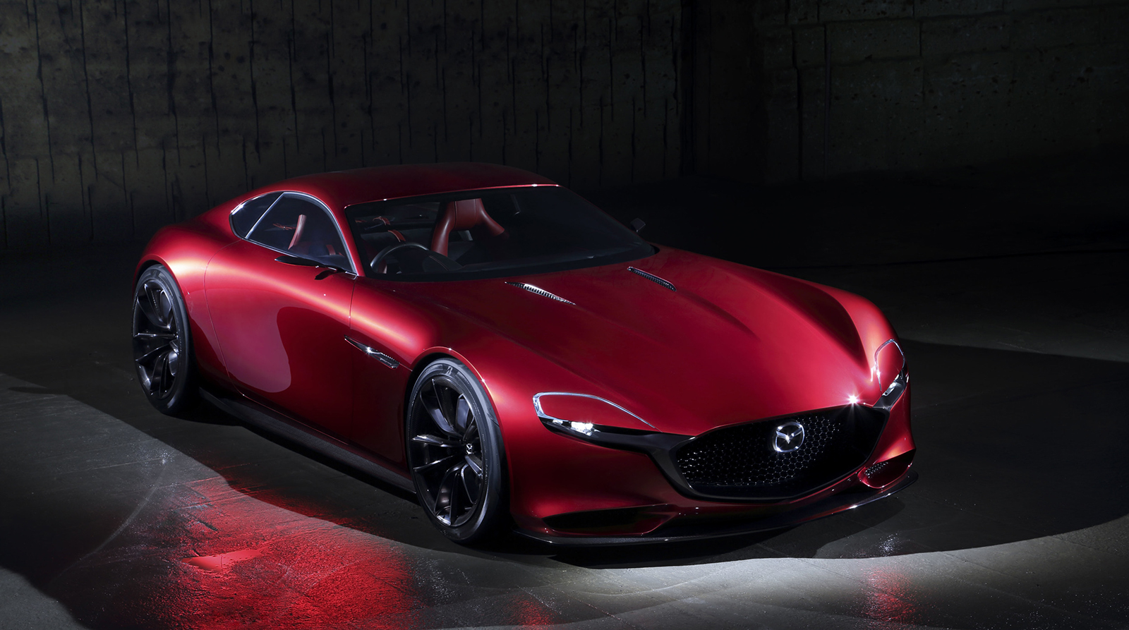 Gorgeous Mazda RX-Vision Rotary-Powered Concept Harkens Back To Legendary FD RX-7