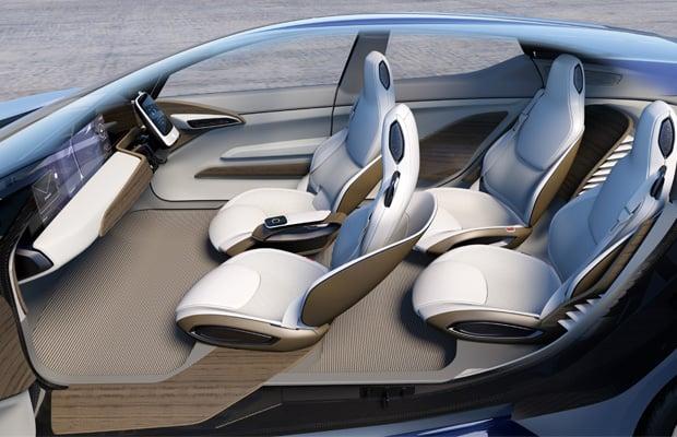 Nissan IDS Concept Interior