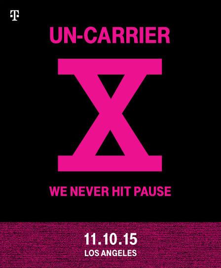 T Mobile Uncarrier X