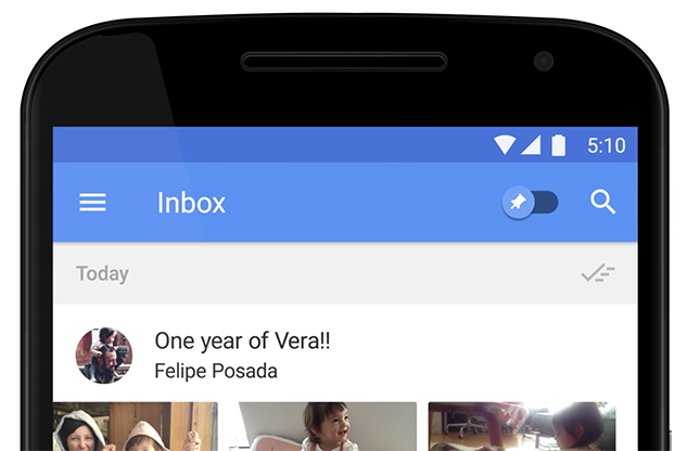Inbox by Gmail Smart Reply