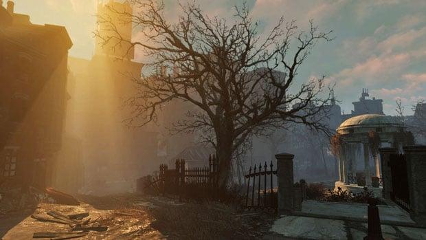 fallout 4 god rays
