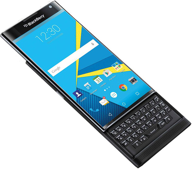 BlackBerry PRIV QWERTY Slider Won't Receive Android 6.0 ...